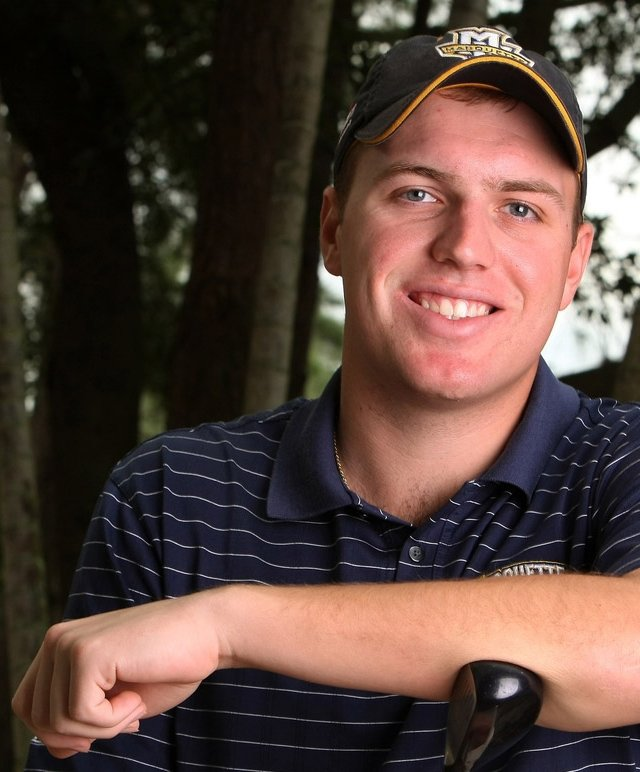 Marquette&#39;s Mike Van Sickle at Innisbrook Resort and Golf Club.