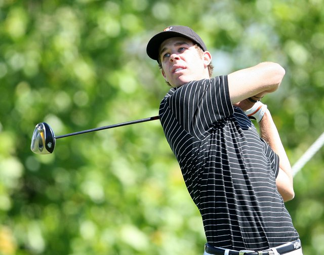 Oklahoma State's Kevin Tway was the medalist at the NCAA South Central regional.