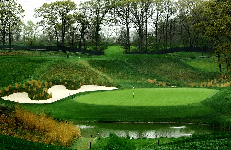 Though the pond in front of hole No. 8 at Bethpage State Park's Black Course never came into play during the 2002 U.S. Open, expect added length to make it a factor this year.
