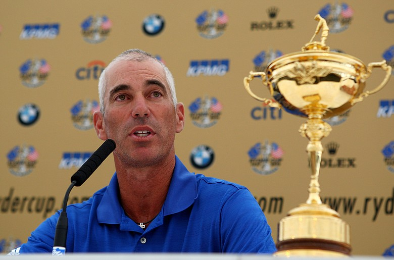 """""""I think I bring a passion to the Ryder Cup, a competitiveness and a love for the Ryder Cup. I hope that I can instill that in players,"""" Pavin said."""