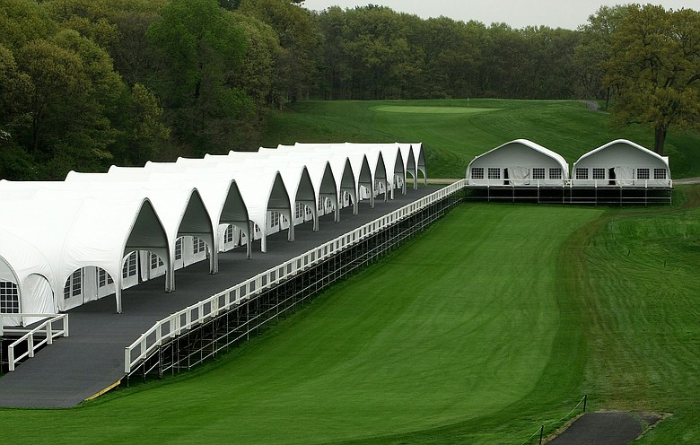 The last time the U.S. Open visited Bethpage Black, in 2002, the USGA sold hospitality packages on the heels of the previous year's Sept. 11 terrorist attacks. Then, New York businesses rallied around the tournament as one of the first major sporting events to return to the region.