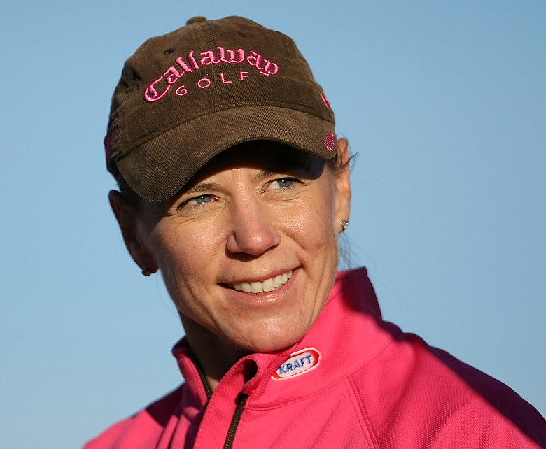 Annika Sorenstam and Colin Montgomerie will join tour leaders from around the world to present golf's pitch to the International Olympic Committee executive board on Monday.