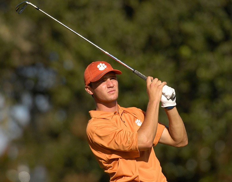 Kyle Stanley in action during the Isleworth Collegiate.