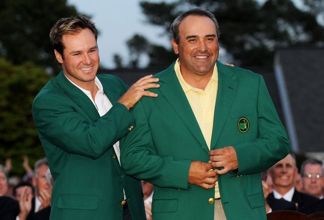 """U.S. Open champion Angel Cabrera was greeted by crowds last year in his native Cordoba chanting, El Pato (""""The Duck'')."""