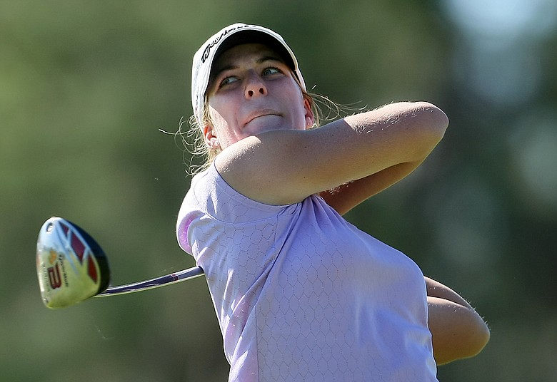 Isabelle Lendl opened the Eastern Amateur with 5-under 67.