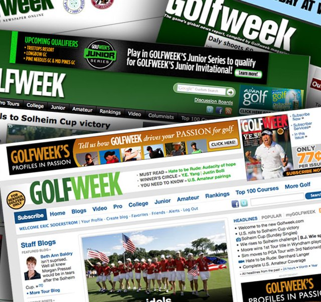 A look at Golfweek.com over the past 10 years.