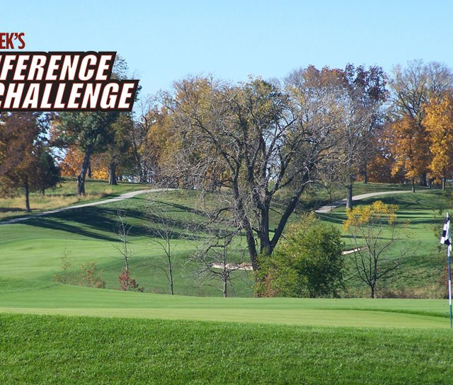 Golfweek&#39;s Conference Challenge starts Aug. 30 at Blue Top Ridge in Riverside, Iowa.