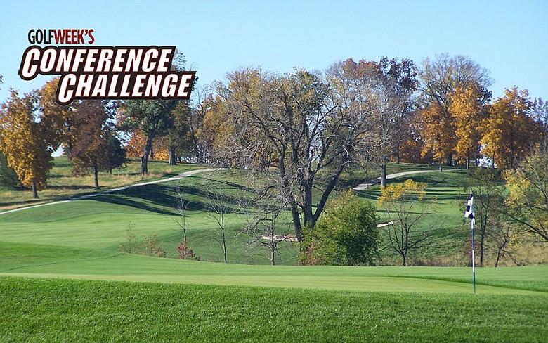 Golfweek's Conference Challenge starts Aug. 30 at Blue Top Ridge in Riverside, Iowa.