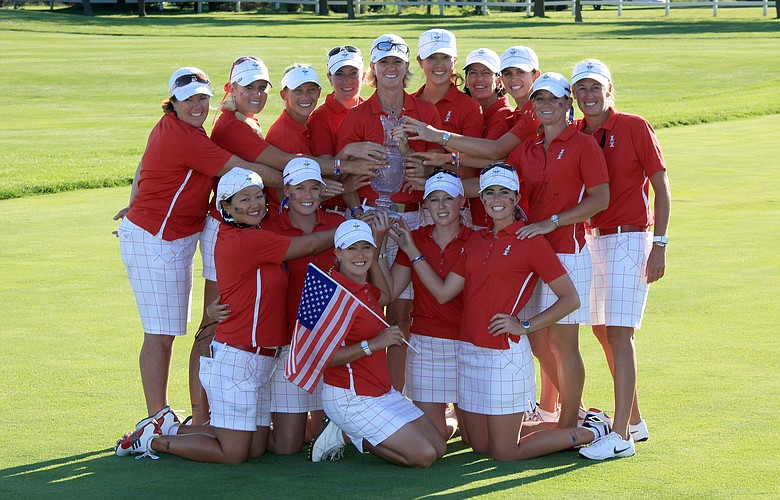 Ashworth provided team outfits for the U.S. during the Solheim Cup.