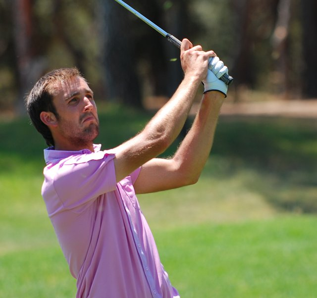Steve Lewton hopes to play on the European Tour in the near future.