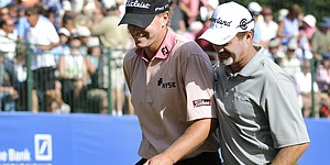 Stricker, Kelly feed off friendship