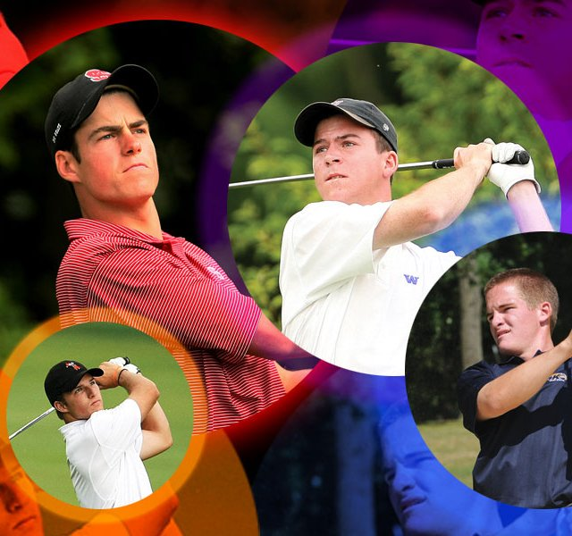 Nick Taylor (from top right, clockwise), John Hahn, Morgan Hoffmann and Matt Hill.