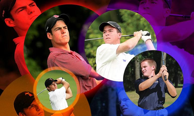 Nick Taylor (from top right, clockwise), John Hahn, Morgan Hoffmann and Matt Hill.