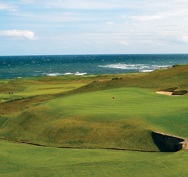 No. 18 at Kingsbarns Golf Links.