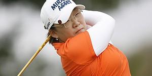 Shin, Kim share Samsung lead