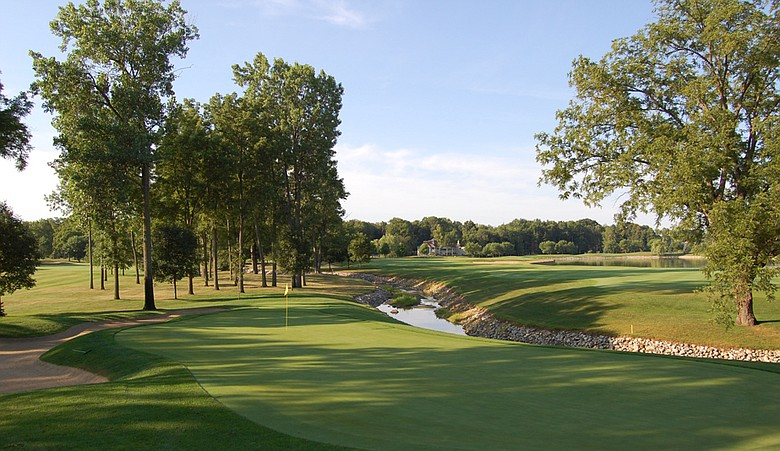 No. 12 at Sycamore Hills Golf Club in Fort Wayne, Ind.