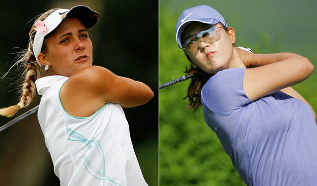 Alexis Thompson and Michelle Wie . . . could it get any better?