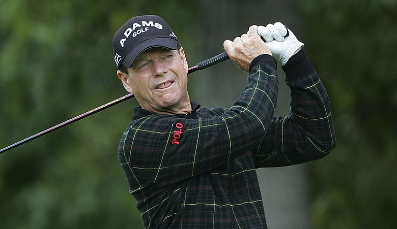 Tom Watson shot a bogey-free 68 in Round 2 at the Senior Players Championship.
