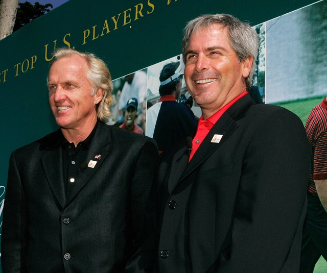 Greg Norman will captain the International team at the Presidents Cup, and Fred Couples will captain the U.S. team.