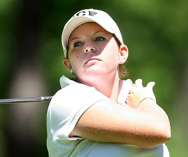 Stephanie Connelly, a UCF graduate, won the LPGA Sectional Qualifier in Venice, Fla.