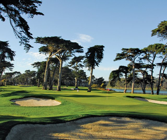 No. 16 at Harding Park, which will be used as No. 13 in the Presidents Cup.
