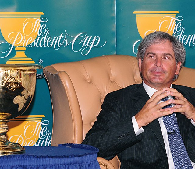 U.S. Presidents Cup captain Fred Couples.