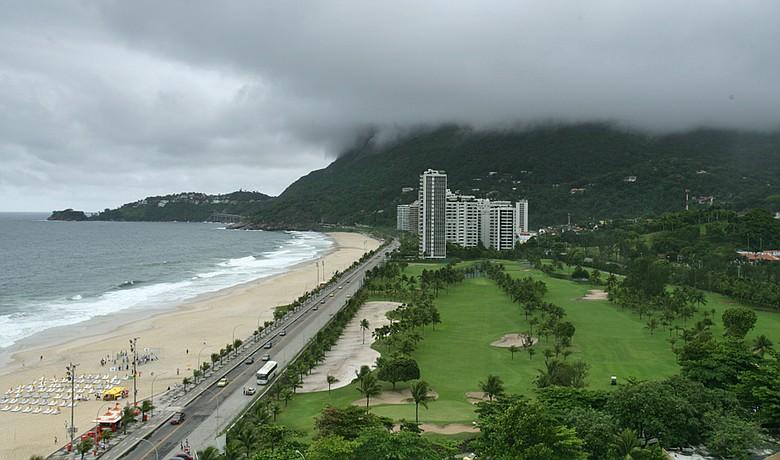 Gavea Golf and Country Club in Rio De Janeiro, Brazil.