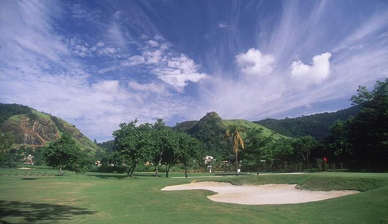 The Itanhanga Golf Club in Rio de Janeiro, Brazil.