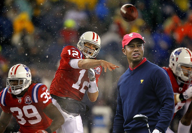 What do Tom Brady and Tiger Woods have in common?