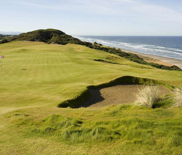 No. 7 on Old MacDonald at Bandon Dunes Resort.