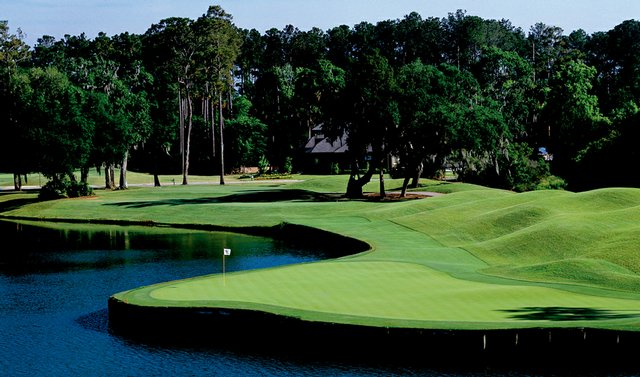 No. 14 on the Valley Course at TPC Sawgrass.