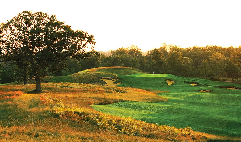 Hole No. 15 at Erin Hills, site of the 2011 U.S. Amateur.