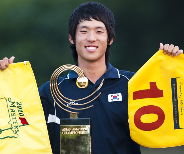 Chang-Won Han won the inaugural Asian Amateur by five shots.