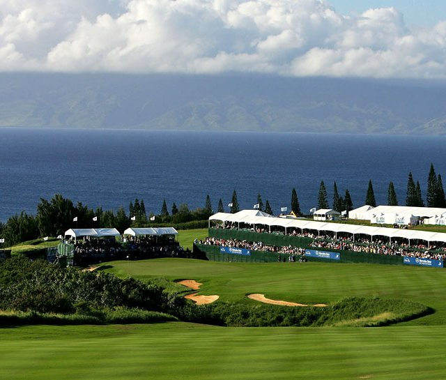 The 2011 PGA Tour season kicks off at the Hyundai Tournament of Champions on the Plantation Course at Kapalua in Hawaii.