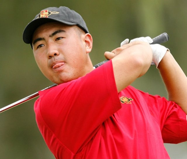 San Diego State&#39;s Alex Kang finished 7th at the Arizona Intercollegiate.