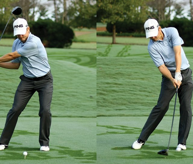 After years of hard work, Heath Slocum has produced a strong, more stable swing.