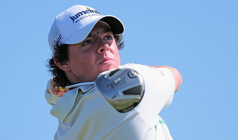 Rory McIlroy during the Portugal Masters on Oct. 14.