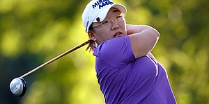 Shin shoots 66 for Ochoa Invitational lead