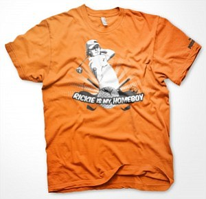 This Rickie is my homeboy T-shirt is a promo item being used by Puma.