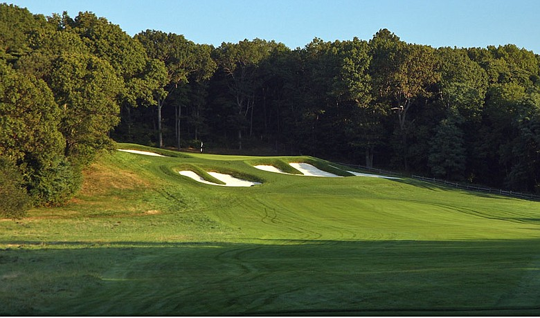 Bethpage State Park's Black Course is getting a new green on No. 15.