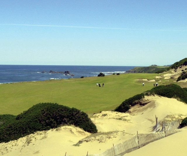 Bandon Dunes Golf Resort.