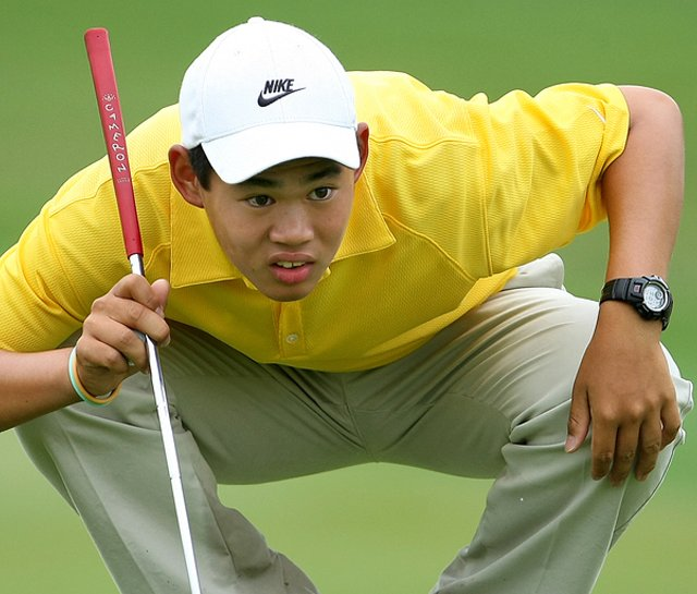 Jay Hwang, pictured at the 2009 U.S. Junior Amateur, shot 66 Tuesday at the Polo Golf Junior Classic to advance to match play.