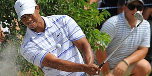 Woods, Ames win with smaller grooves