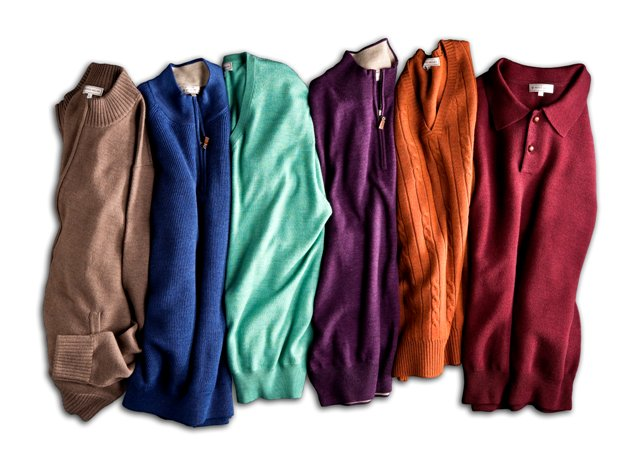 Peter Millar sweaters make a great gift for men and women. 