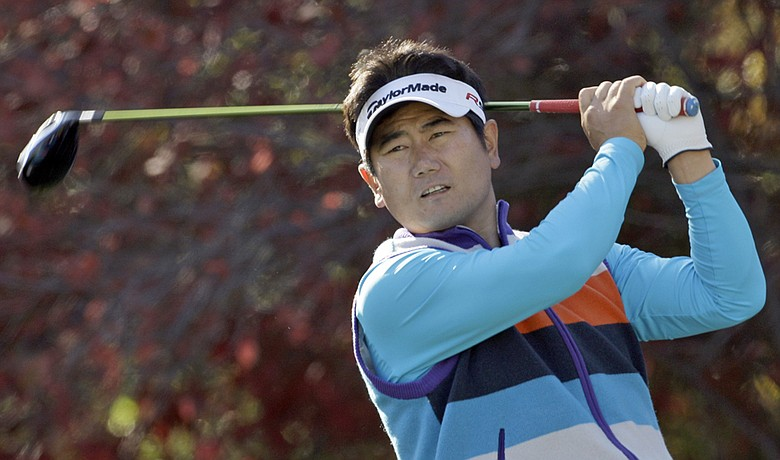 Y.E. Yang shot 65 on Dec. 4 and leads the Chevron World Challenge by two shots.