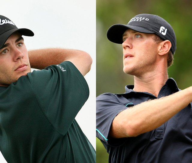 Troy Merritt (left) and Graham Delaet are closing in on their 2010 PGA Tour cards. 