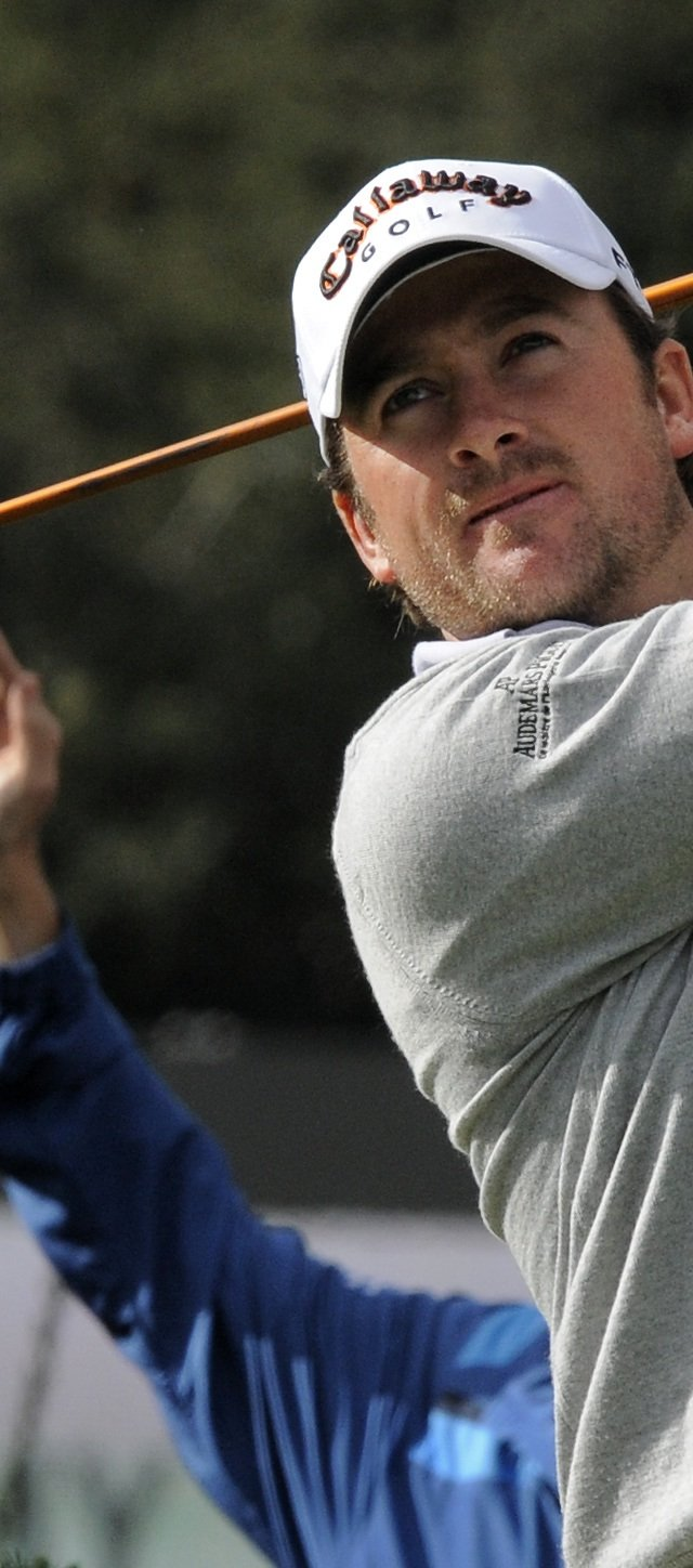Graeme McDowell at the Chevron World Challenge in Thousand Oaks, CA. 