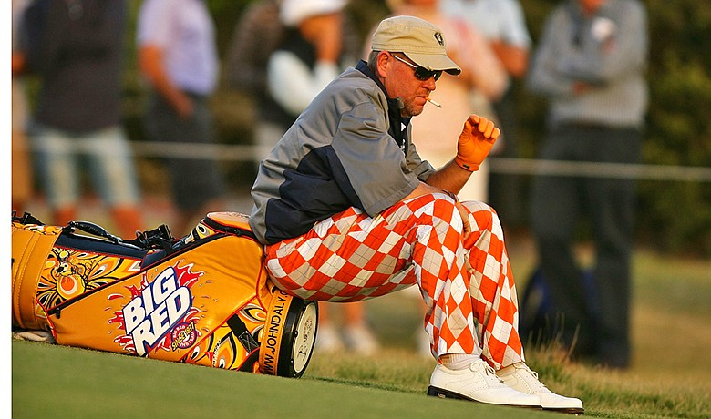 John Daly wants Matt Damon to play him in a movie.