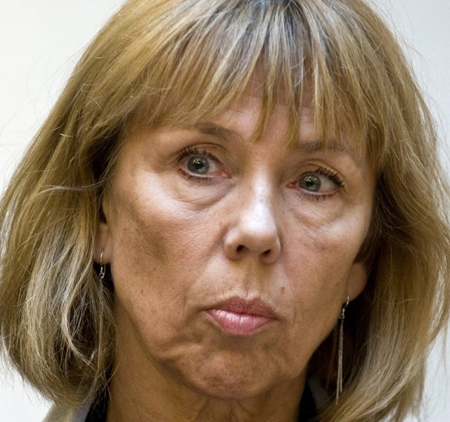 A photo of Tiger Woods mother-in-law, Barbro Holmberg, taken in 2007 in Stockholm, Sweden. 