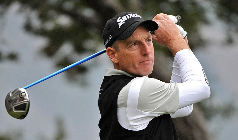 Jim Furyk signed a three-year extension for his endorsement deal with Johnny Walker Collection.